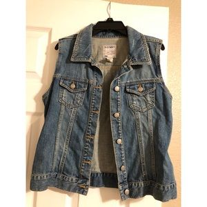 Old Navy Jean Vest Size S